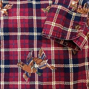 Vintage Chaps Ralph Lauren Mallard Duck Shirt M
